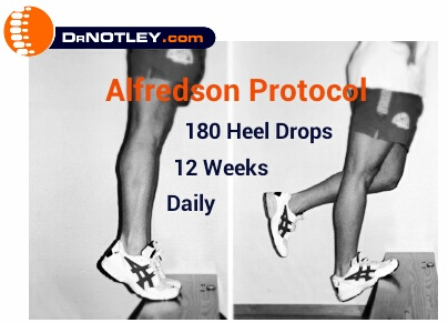 Achilles tendonitis time to work into the pain http www drnotley